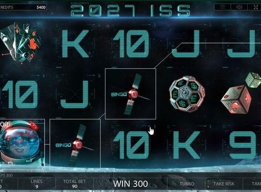 Комбинация с диким символом в 2027 ISS